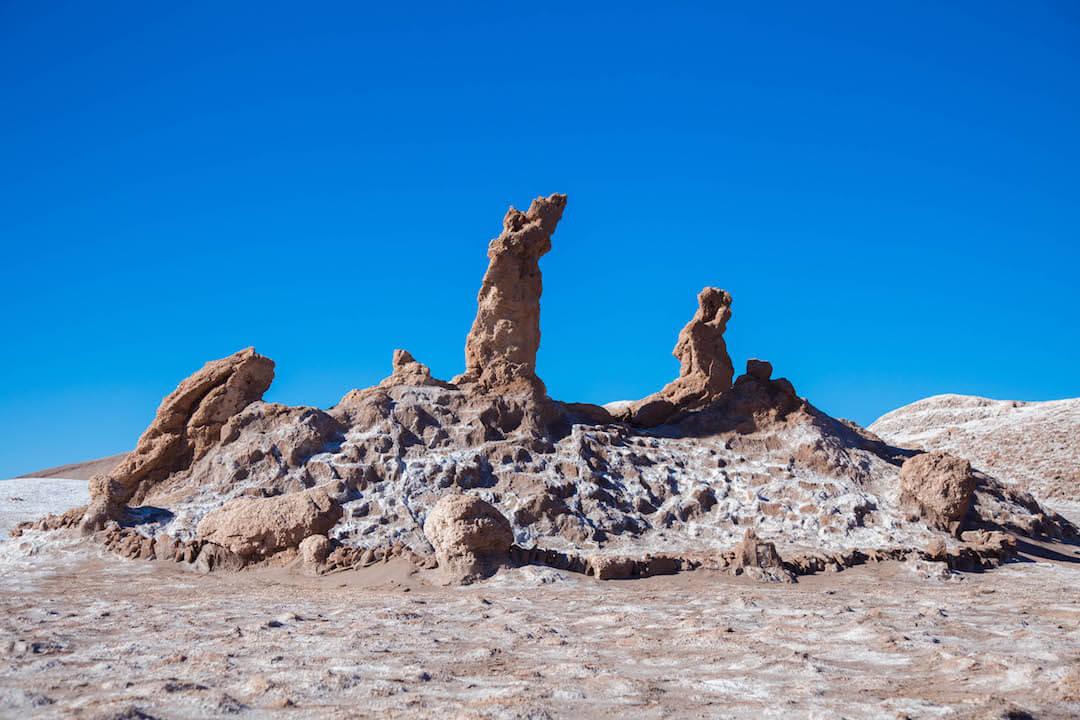 Formación rocosa en Valle de la Luna